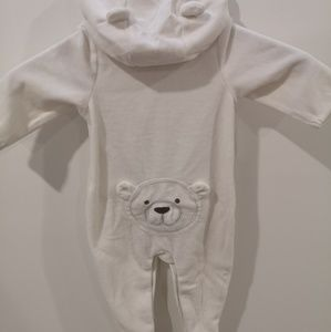 Gap | Cozy, footed bear suit